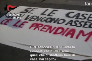 """Occupazioni abusive a Milano, corteo per il comitato abitanti Giambellino: """"Non è racket"""""""
