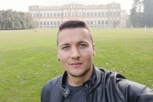 Dorin, travolto e ucciso giovedì mattina a Milano (Foto Facebook)