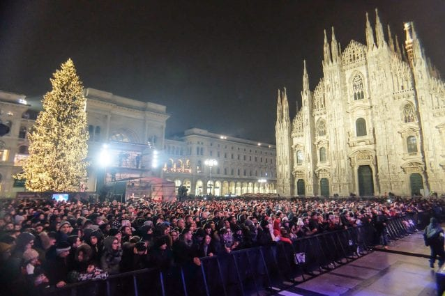 Capodanno 2020 Milano Dal Concertone In Piazza Duomo Alle