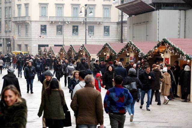 Il Mercatino di Natale intorno al Duomo