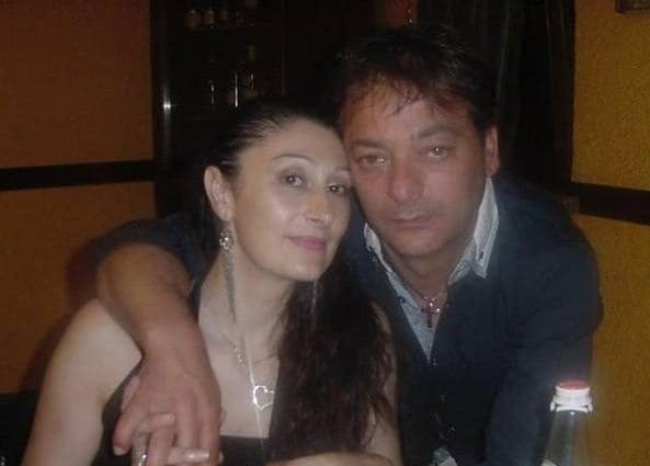 La coppia uccisa (foto Facebook)