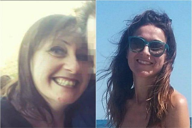 Chiara Alessandri (a sinistra) e Stefania Crotti, la mamma uccisa e bruciata a Gorlago.