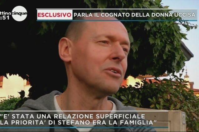 Il cognato di Stefania Crotti, la donna uccisa e bruciata tra Gorlago ed Erbusco