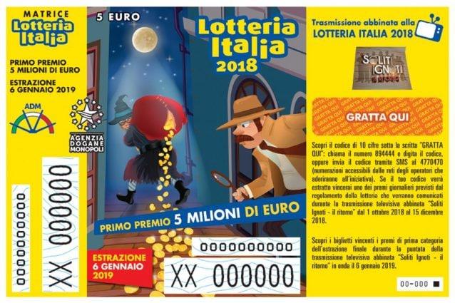 Lotteria Italia, i biglietti vincenti dei premi di terza categoria