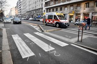 Milano, morto l'anziano investito da uno scooter in viale Tibaldi: sbalzato a 20 metri sull'asfalto