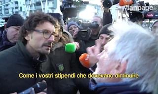 """Pioltello, lite tra Toninelli e contestatore. Stoccata a Salvini: """"Mi avrebbe fatto piacere vederlo"""""""