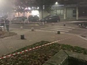 La zona della sparatoria (Foto dal comitato quartiere Insubria–Molise–Varsavia su Facebook)