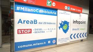 Area B Milano, dal 25 febbraio scattano i divieti per auto e moto: mappa, deroghe e multe