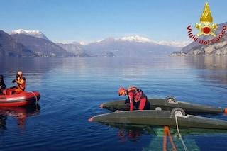 Aereo precipita nel lago di Lecco: salvo il pilota