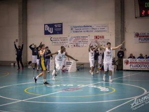 Una partita degli Aironi Pallacanestro Robbio (dalla pagina Facebook del team)