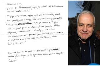 """Lettera dal carcere di Roberto Formigoni: """"Grazie per il sostegno e la stima"""""""