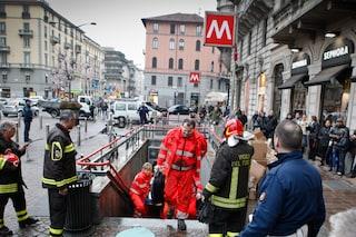 Milano, brusca frenata di un convoglio della linea M1: ferite 12 persone a Sesto 1° Maggio