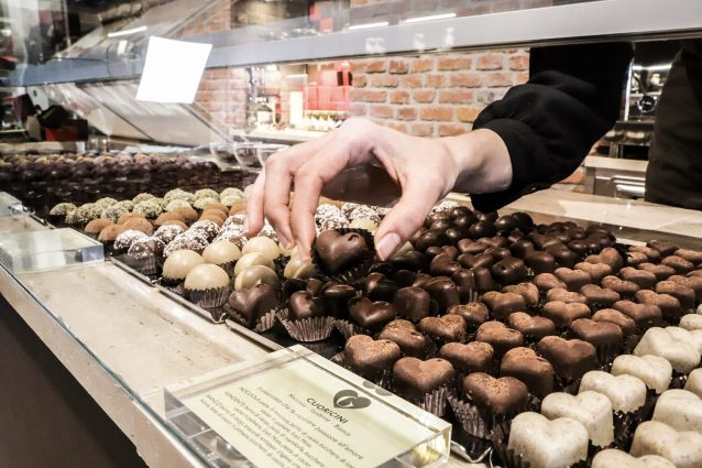 Alcuni dei prodotti di Grezzo Raw Chocolate