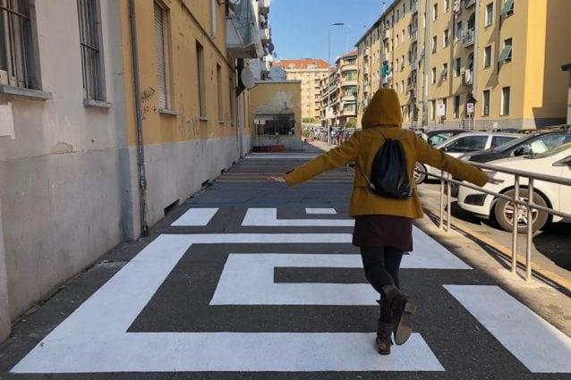 Il nuovo aspetto di via Abbiati a Milano
