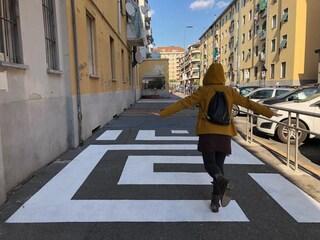 Urbanistica tattica a Milano: la rinascita di via Abbiati, nel cuore delle case popolari di San Siro