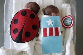Milano, il Carnevale speciale dei neonati del Niguarda: piccoli costumi per dei veri supereroi