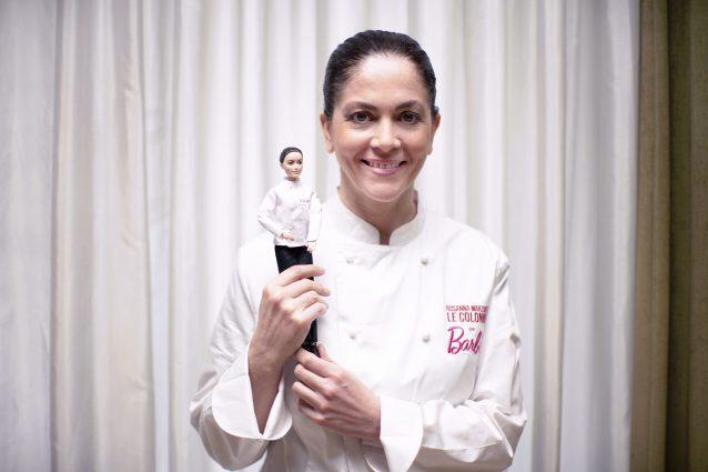 La chef Rosanna Marziale e la Barbie a lei dedicata