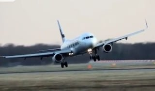 Milano, aereo costretto a un atterraggio di emergenza a Linate: stormo di uccelli nel motore