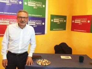 Il sindaco di Legnano, Gianbattista Fratus (Facebook)