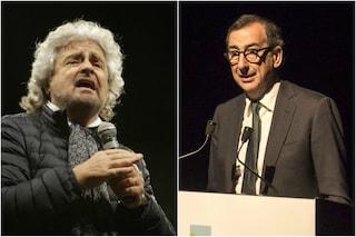 """Grillo attacca la marcia di Milano e Sala risponde: """"Chi scende in piazza va rispettato"""""""