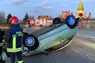 Cornaredo, tragico incidente nella notte: auto si ribalta, muore ragazzo di 29 anni