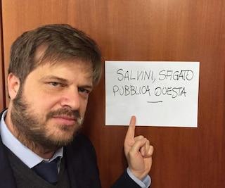 """Milano, l'assessore Majorino contro Matteo Salvini: """"Sfigato"""""""