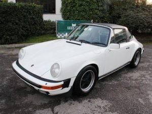 La Porsche rubata (Foto Luzzago 1975 Srl – Classic cars via Facebook)