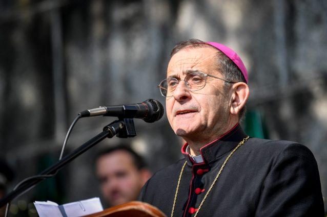 L'arcivescovo di Milano Mario Delpini