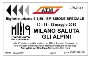 Milano, Adunata nazionale degli Alpini 2019: gli orari dei mezzi pubblici Atm dal 10 al 12 maggio