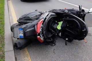 Lodi, incidente stradale a Massalengo nella notte di Ferragosto: morto un motoclista