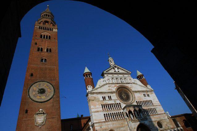 Il duomo di Cremona e il campanile del Torrazzo