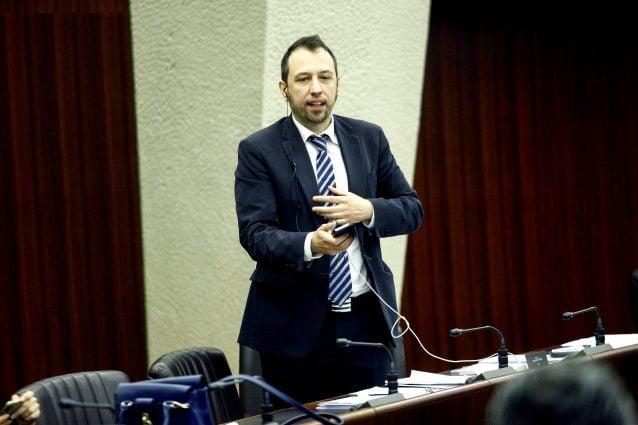 Gianluca Comazzi, capogruppo di Forza Italia al Consiglio regionale della Lombardia