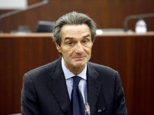 Il presidente della Lombardia, Attilio Fontana