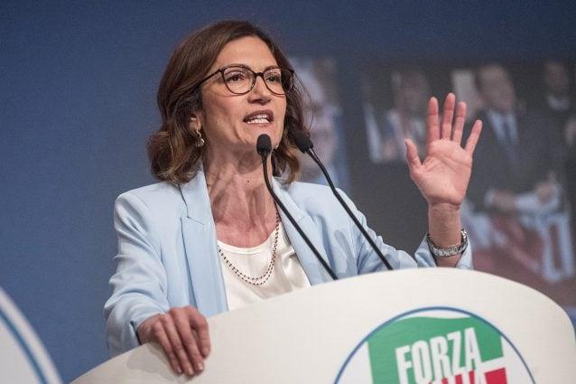 La capogruppo alla Camera di Forza Italia, Mariastella Gelmini