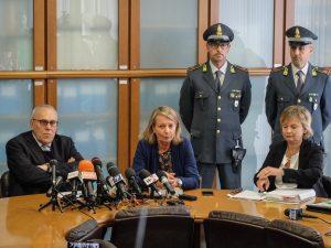Il procuratore Francesco Greco e Alessandra Dolci, capo della Dda di Milano