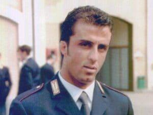 L'agente Vincenzo Raiola rimasto ucciso nella sparatoria