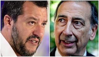 """Festa Inter, Salvini: """"Sala poteva aprire San Siro"""". La replica: """"Ma se gli stadi sono chiusi"""""""