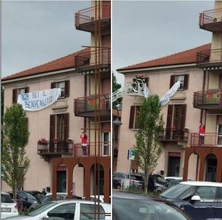 """Brembate, il ragazzo autore dello striscione contro Salvini: """"Ho paura del clima di censura"""""""