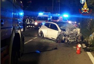 Monza, tragico incidente sulla Valassina: scendono dall'auto e vengono travolti, un morto