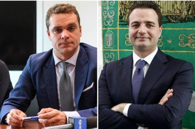 Pietro Tatarella e Fabio Altitonante
