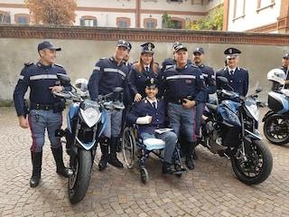 """La storia di Bruno, il primo poliziotto amputato d'Italia: """"Resto in divisa, ho vinto io"""""""