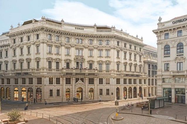 The Medelan, il nuovo palazzo del Credito italiano in piazza Cordusio (Foto da Genius loci architettura via Facebook)