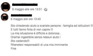 Sesto San Giovanni: donna annuncia il suicidio su Facebook, poliziotto legge il messaggio e la salva