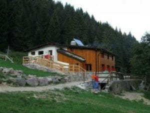 Il rifugio Alpe Corte