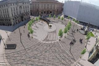File di alberi e più spazi ai pedoni: ecco come cambierà piazza Cordusio a Milano