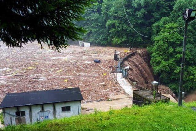 La diga di Premana (Foto: Lecco Notizie)