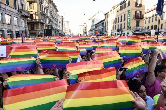 La parata del Milano Pride 2018