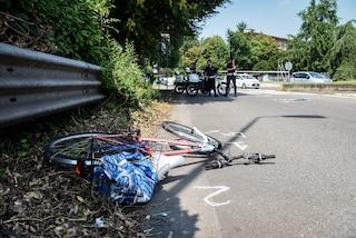 Pavone Mella, ciclista travolta da un camion al semaforo: ricoverata in codice rosso