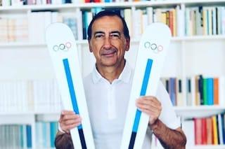 """Olimpiadi 2026 a Milano-Cortina, Beppe Sala esulta con gli sci: """"Taaac"""""""