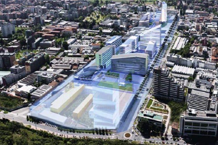 Il futuro Villaggio olimpico allo scalo di Porta Romana